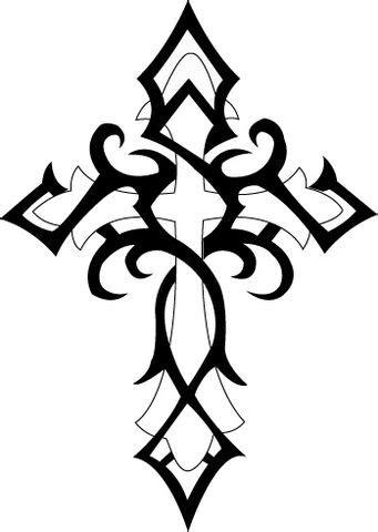 cross tattoo line art catholic cross drawing clipart panda free clipart images