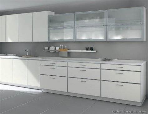 White Kitchen Cabinets With Glass White Kitchen Cabinets With Frosted Glass The Interior Design Inspiration Board