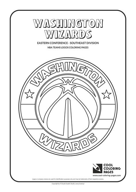 nba wizards coloring pages cool coloring pages nba teams logos coloring pages cool