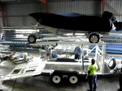 car and boat trailer double decker double deck stacker utility trailer html autos post