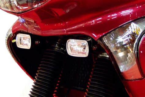 honda xl 650 accessories honda transalp xl650v halogen fog lights incl motobozzo