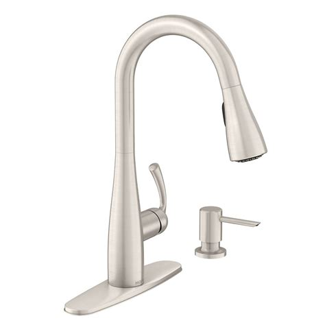Moen Benton Kitchen Faucet Moen Benton 1 Handle Pulldown Kitchen Faucet Mediterranean Bronze Finish The Home Depot Canada
