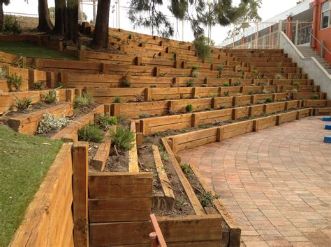 Re Home Kitchen Design Timber Retaining Wall Marist High Westmead Archoz