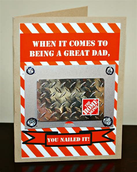 Can I Buy Home Depot Gift Cards At Walgreens - 20 diy father s day cards gifts kids can make faithful provisions
