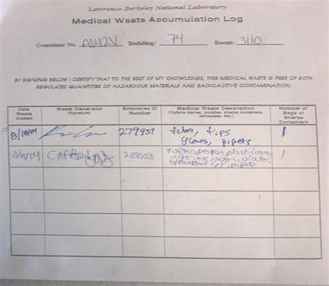 image gallery osha autoclave log sheets