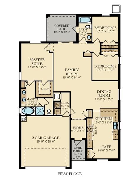 lennar homes floor plans florida columbus ii floor plan lennar