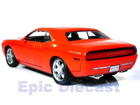 Challanger Concept Car by 2006 Dodge Challenger Concept Car 1 18 Epic Diecast Cars