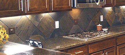 Large Tile Kitchen Backsplash by Create A Unique And Fresh Kitchen With A Slate Backsplash
