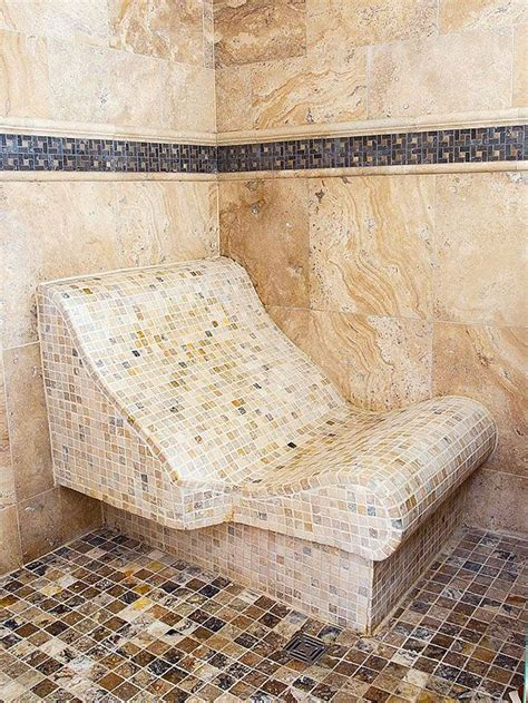 curved shower bench 43 best images about steam showers on pinterest two