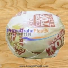 Kertas Nasi Kfc Polos Paper Wrap 23 X 275 Cm primagraha plastik khusus menjual packaging makanan take