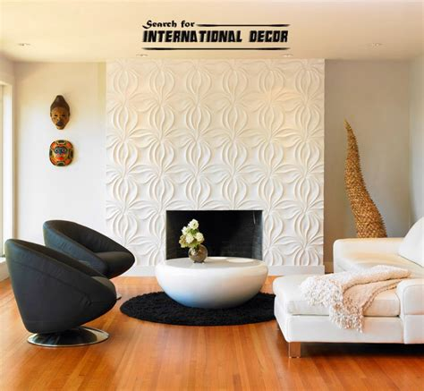 decorative wall panels in the interior trends