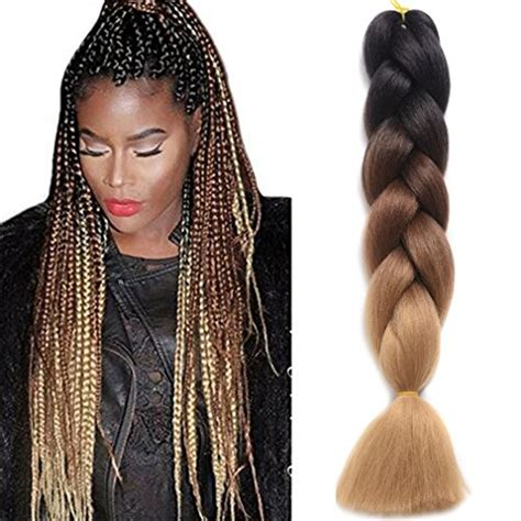 Self Braiding | ding dian synthetic braiding hair extensions kanekalon