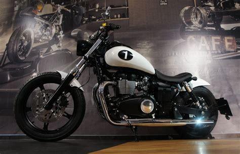 Motorrad Denk by Umgebautes Motorrad Triumph Speedmaster