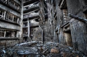 abandoned cities abandoned hashima city island inspiration for james bond movie skyfall