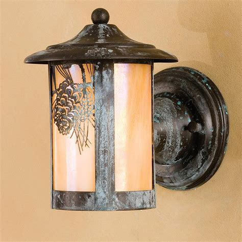 cabin wall sconces amazoncom rustic light wall sconce l cabin decor pine oregonuforeview