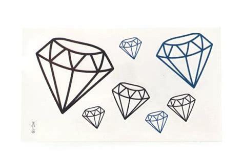 henna tattoo diamond temporary tattoos set of 7 temporary tattoos by