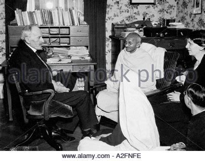 gandhi biography french mahatma gandhi and romain rolland 1931 stock photo