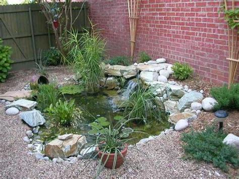 16 Best Water Gardens Images On Pinterest Backyard Ponds Small Water Garden Ideas