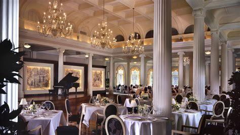 the dining room restaurant hot springs va restaurants the omni homestead resort