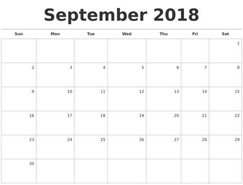 Blank Calendar 2018 July 2018 Monthly Calendar Template