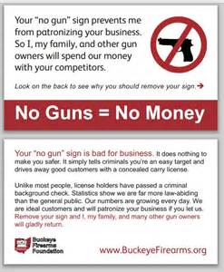how to carry business cards fight no gun signs with our no guns no money cards on point preparedness