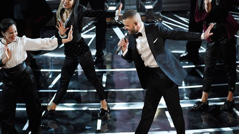 justin timberlake best songs justin timberlake performs oscar song can t stop the