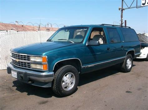 how to sell used cars 1993 chevrolet suburban 2500 on board diagnostic system purchase used 1993 chevy suburban no reserve in orange california united states