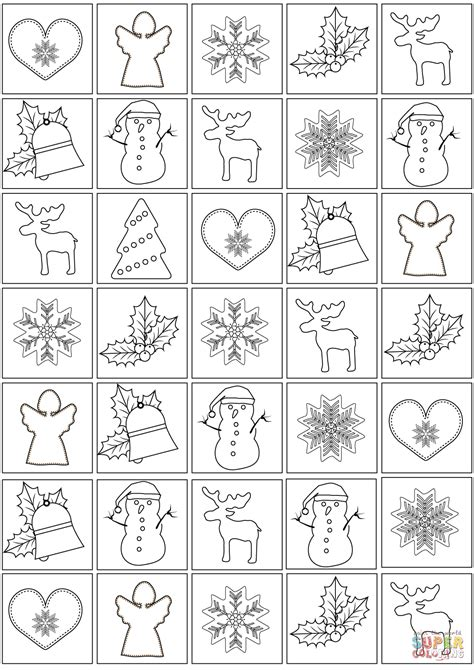 christmas pattern coloring pages christmas pattern coloring page free printable coloring