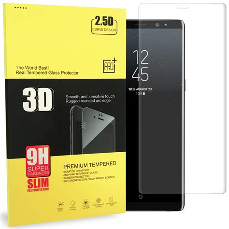 Samsung Note 8 Pelindung Lensa Tempered Glass Clear clear 3d tempered glass screen protector samsung galaxy note 8