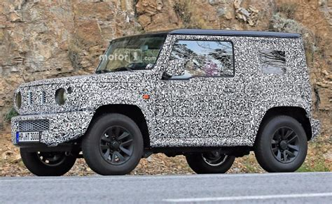 Suzuki Jimny News Next Suzuki Jimny Spotted Testing Alongside Current