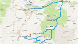 multnomah falls oregon map you ll want to take this portland wonders road trip