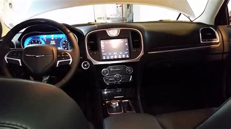 chrysler 300c 2017 interior 2017 chrysler 300 sedan quick interior tour youtube