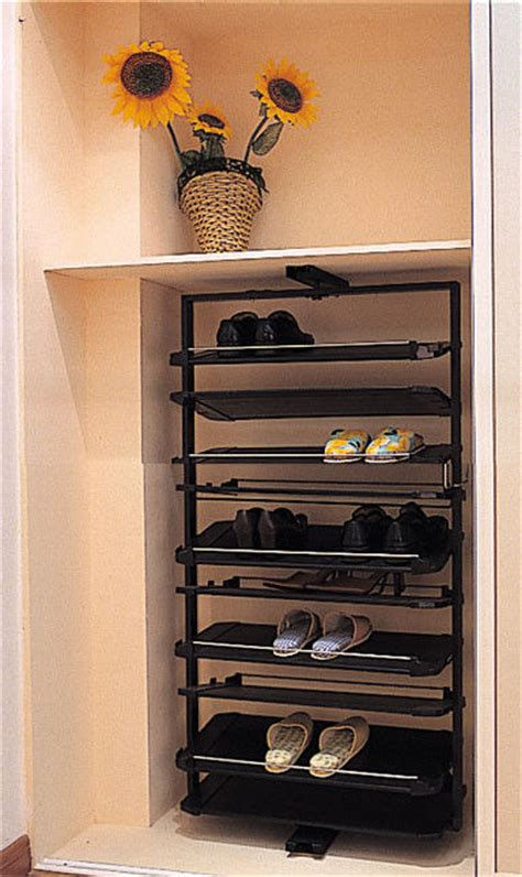 Vertical Shoe Racks For Closets by China 1437mm Height Closet Revolving Shoe Rack Durable