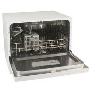 Compact Dishwasher New Countertop Portable Compact Dishwasher White 4
