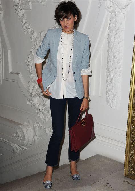 frugal fashion ines de la fressange at fashion week