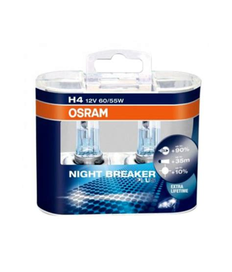 Lu Mobil Osram Nbr Plus osram breaker plus headlight bulbs bulb h4 buy osram breaker plus headlight