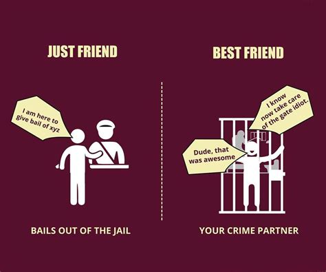 friend best friend 7 posters that explain the difference between just
