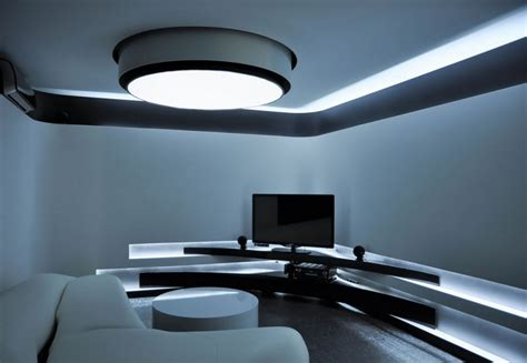led living room lighting room design with full led lighting home design inspiration