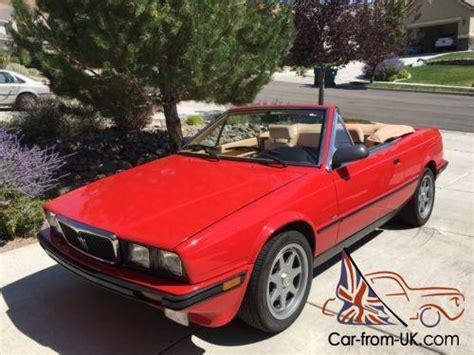 car repair manuals download 1989 maserati spyder transmission control 1989 maserati spyder