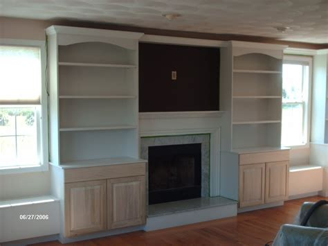 Built In Cabinets Around Fireplace by Roggero Custom Cabinetry Interiors April 2010