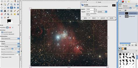 gimp tutorial wallpaper how to make a cosmic wallpaper in gimp gimp tutorials blog