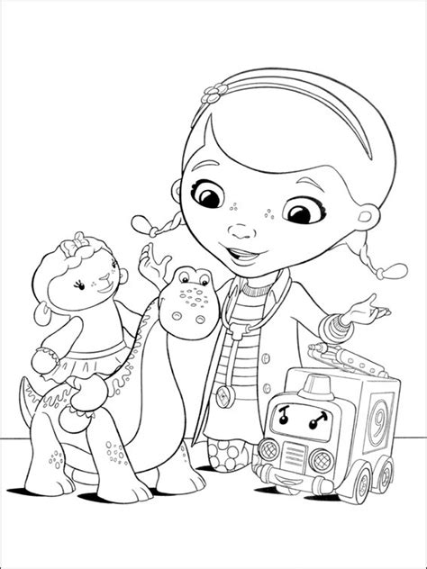 doc mcstuffins coloring pages free printable doc