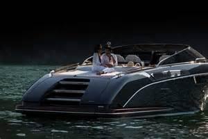 Luxurious Kitchen Design Riva Rivamare Speedboat Uncrate
