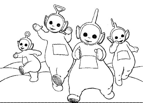Free Printable Teletubbies Coloring Pages For Kids Printable Color Pages