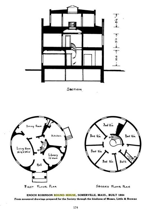 round house floor plan architecture centers and squares part 4
