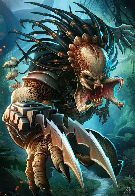 the predator by patrickbrown on deviantart