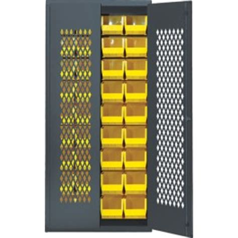 wire mesh safe view storage cabinet with bins qsc mesh
