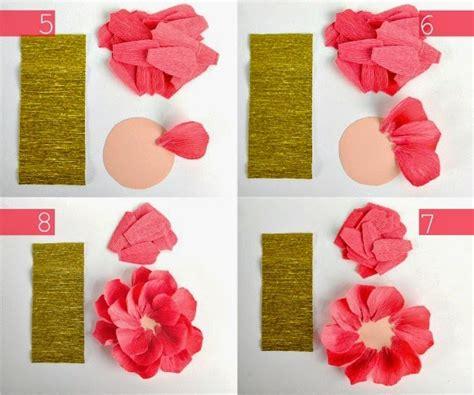 cara membuat bunga menggunakan kertas crepe mahar hantaran surabaya membuat bunga cantik dari kertas krep
