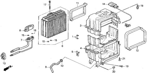automotive air conditioning repair 1998 honda odyssey user handbook a c cooling unit 1998 honda odyssey parts lx 7 seats 3pb 4 speed automatic genuine oem