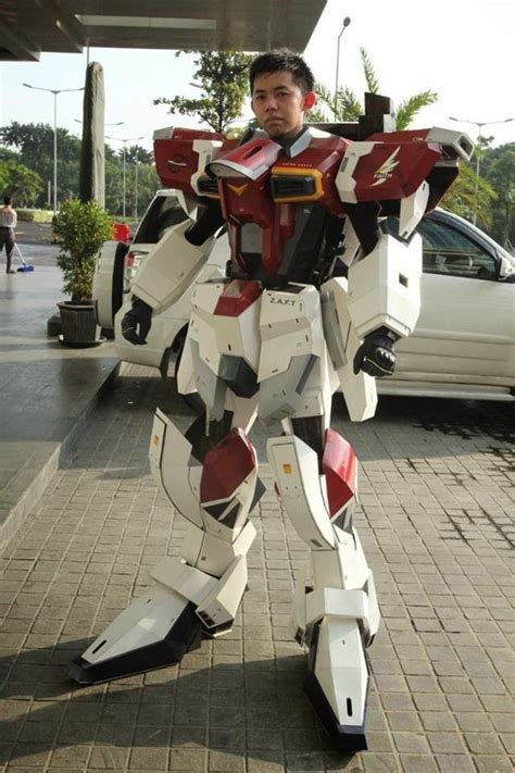 Papercraft Costume - sword impulse gundam by gunawan gundam kits